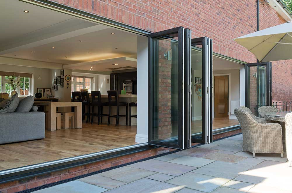 Aluminium bi-fold door prices Salisbury
