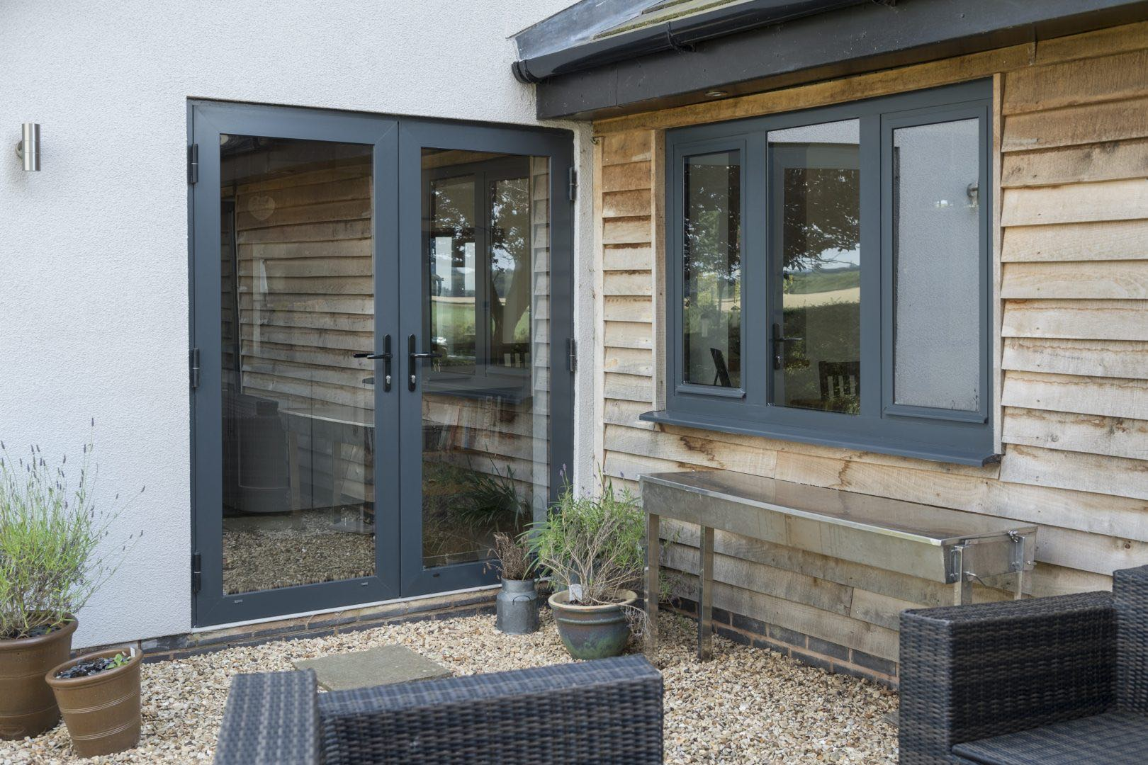 Aluminium doors prices brucombe