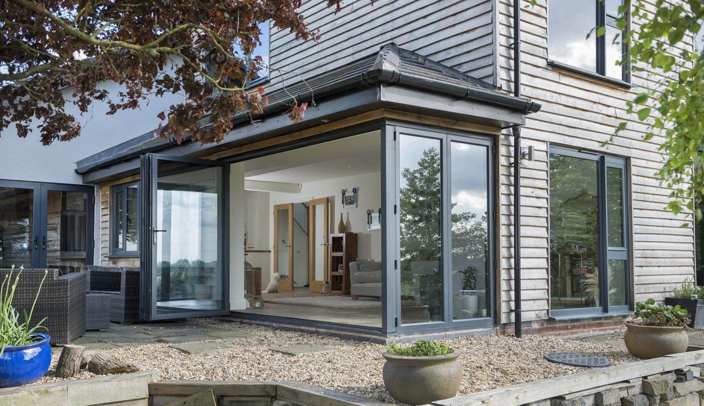 Aluminium bi-Fold Doors Salisbury Wiltshire
