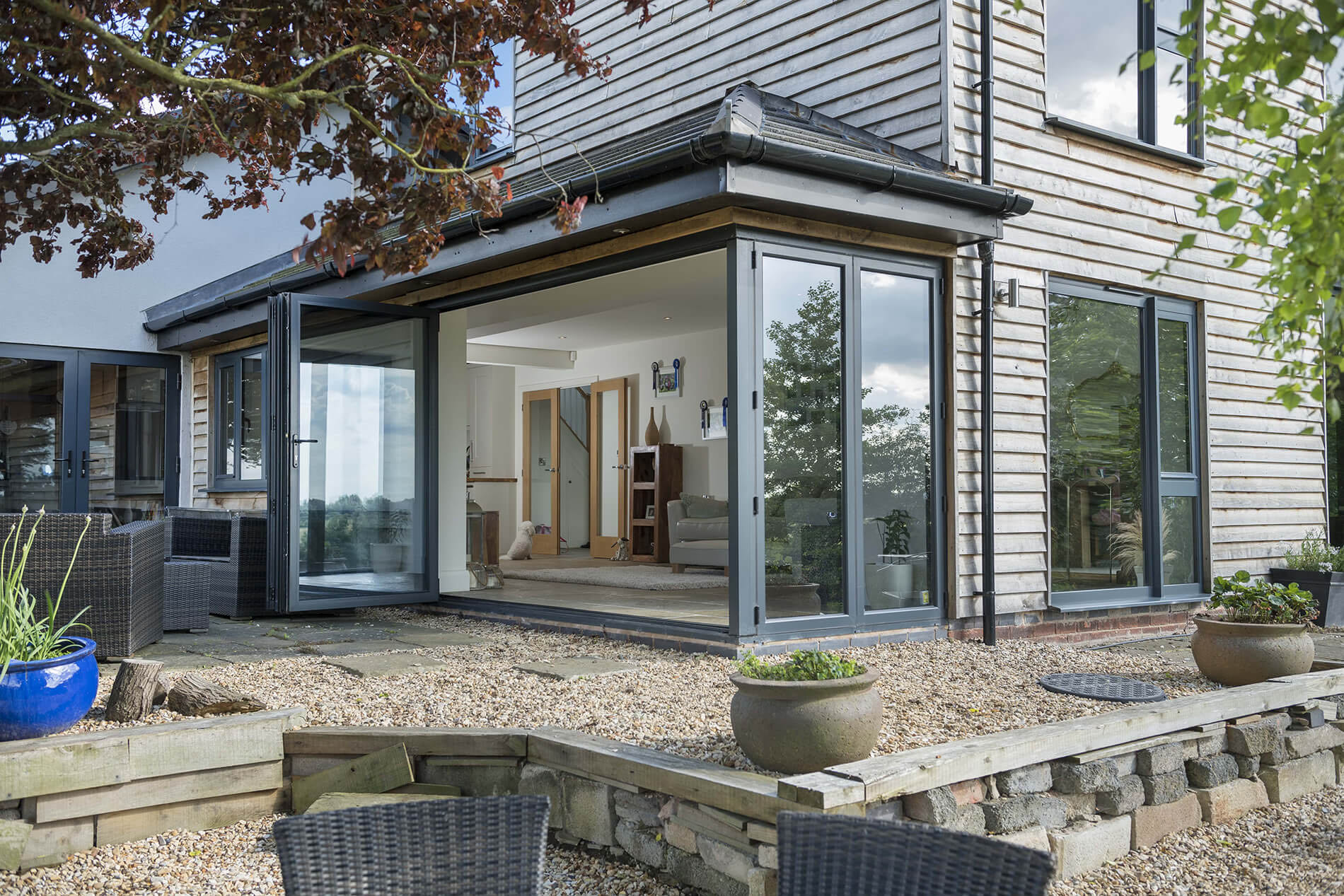 Aluminium Doors quotes burcombe
