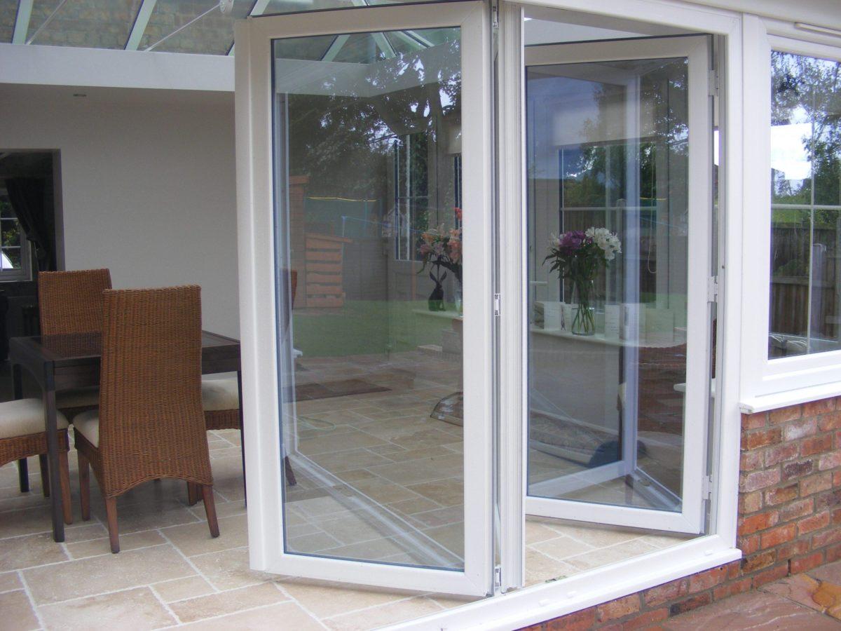 internal uPVC bifold doors Salisbury