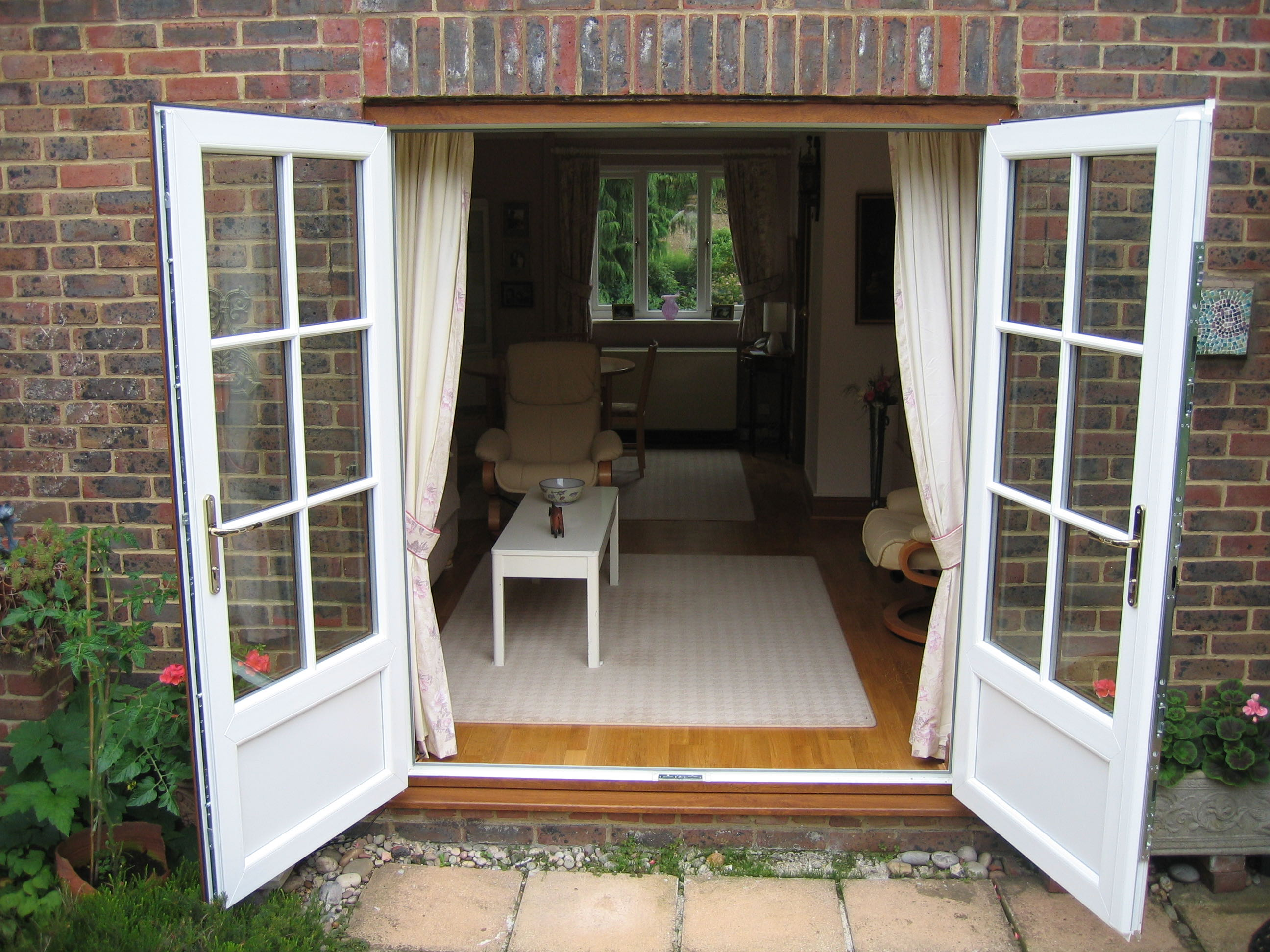 uPVC French Garden Doors Wiltshire