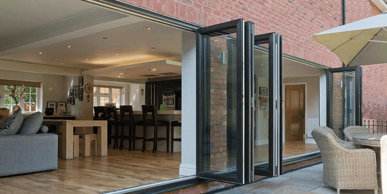 aluminium bifold door cost warminster