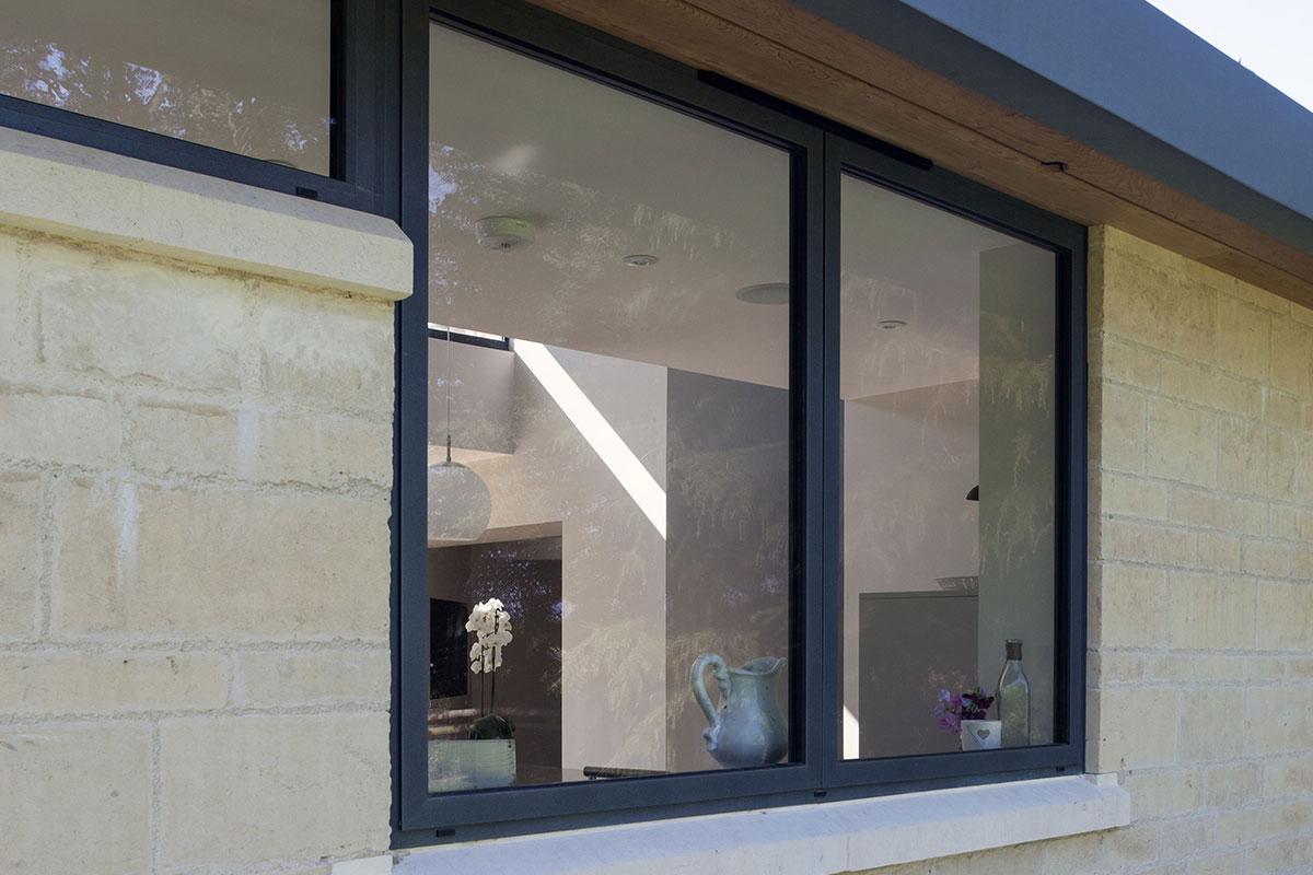 Coloured Aluminium Windows Harnham