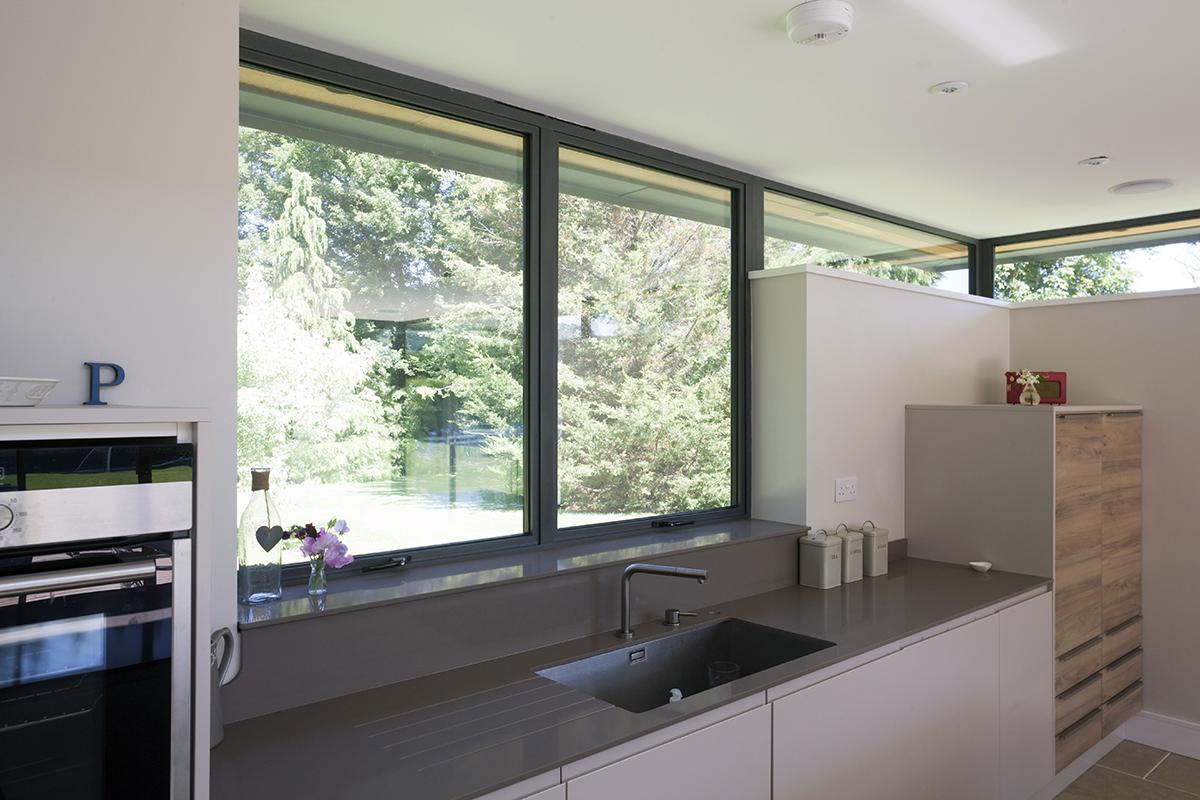 Modern Aluminium windows in Harnham