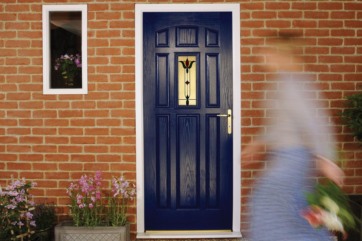 co,oured composite doors harnham
