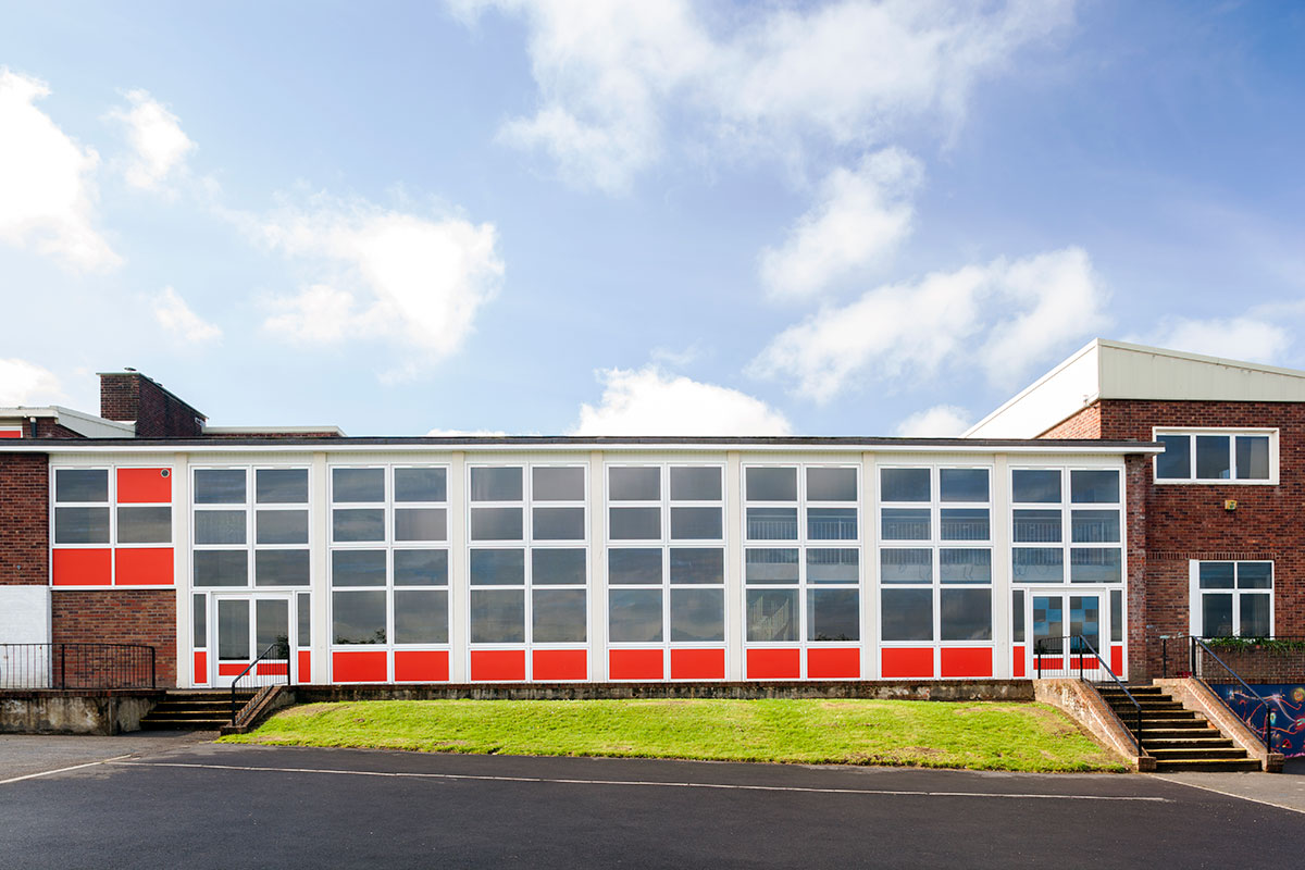 Commercial Glazing for Schools Wiltshire