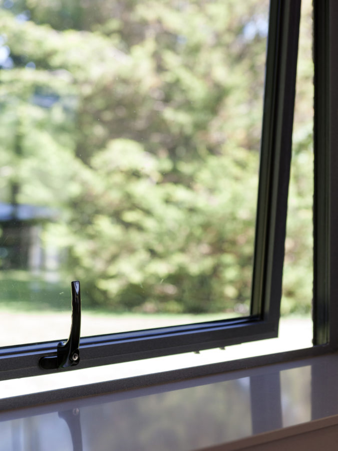 alumnium window styles in salisbury