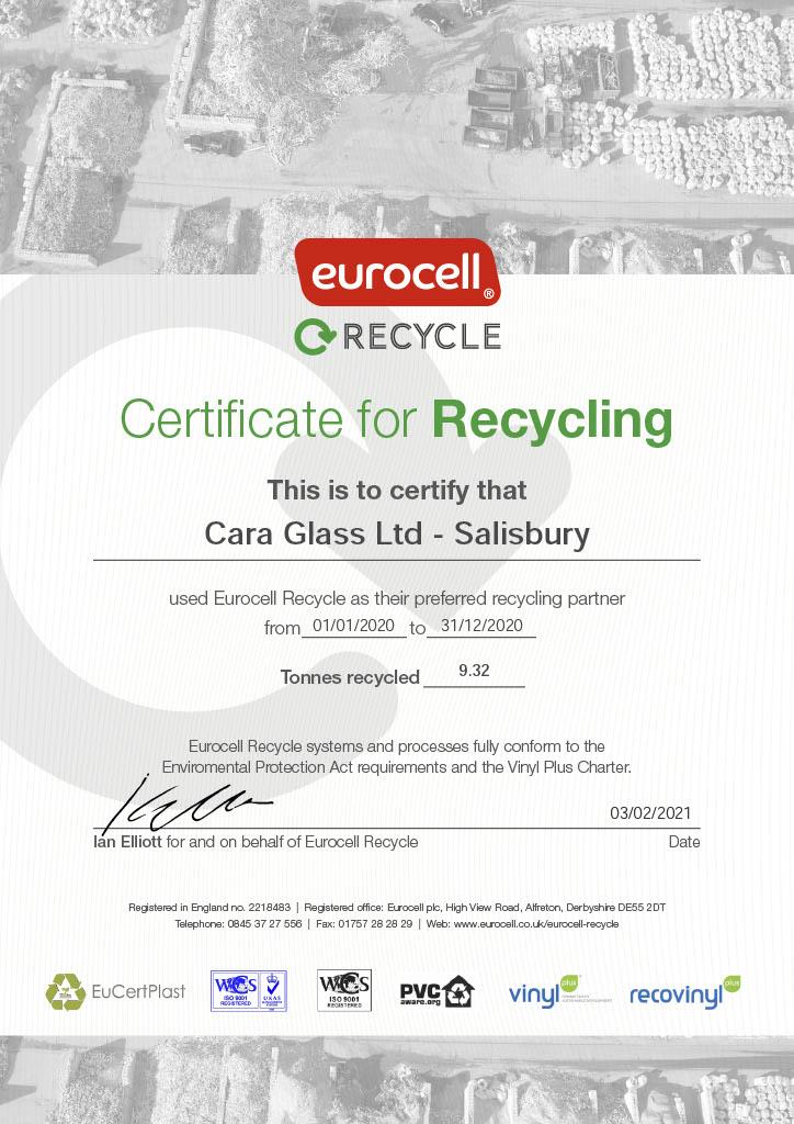recycled upvc windows